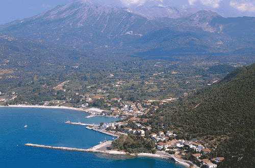 A panoramic view of Vassiliki VASSILIKI (Village) LEFKADA